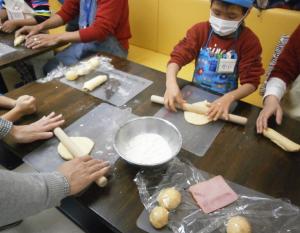 パン屋さんとパン作り